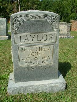 Permelia Bathsheba <I>Jones</I> Taylor