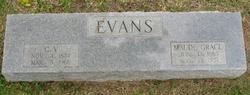 Maude Grace <I>Sneed</I> Evans