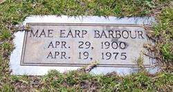 Edna Mae <I>Earp</I> Barbour