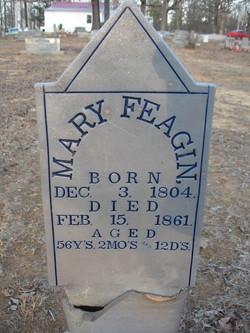 """Mary """"Polly"""" <I>Reed</I> Feagin"""