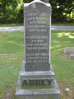 Cordelia B. <I>Burt</I> Abbey