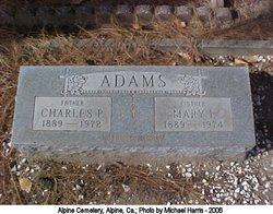 Charles P Adams