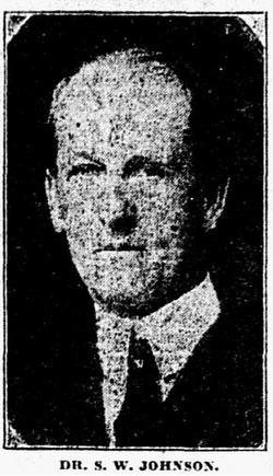 Dr Samuel Wister Johnson