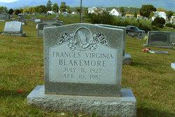 Frances Virginia <I>Comer</I> Blakemore