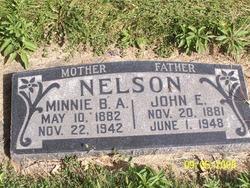 Minnie Beth <I>Adamson</I> Nelson
