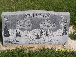 Phyllis Alberta <I>Sprague</I> Staples