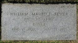 William Maurice Fewer