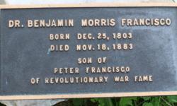 Dr Benjamin Morris Francisco