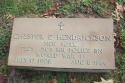 Chester Earl Hendrickson