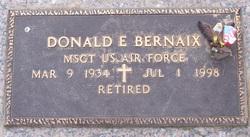 Donald E Bernaix