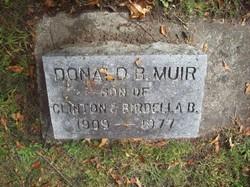 Donald Bevan Muir