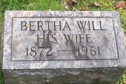 """Bertha J. """"Mina"""" <I>Will</I> Sixbery"""