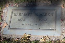 Harriet M. Alden