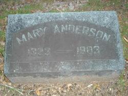 Mary Ann <I>Richardson</I> Anderson