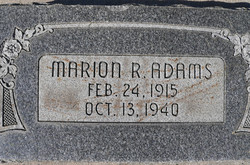 Marion R. Adams