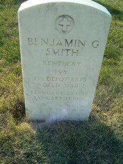 Benjamin G Smith