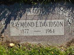 Raymond Earl Davidson