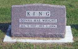 Donna Mae <I>Wright</I> King