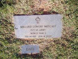 Millard Metcalf