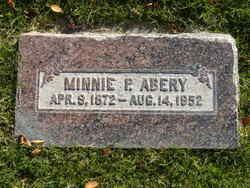 Minnie Pearson <I>Allan</I> Abery