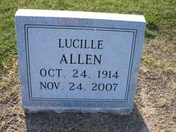 Fannie Lucille <I>Welshans</I> Allen