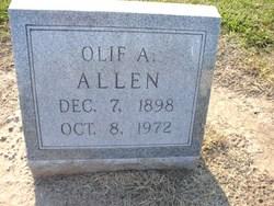 """Olif Algerman """"O A"""" Allen"""