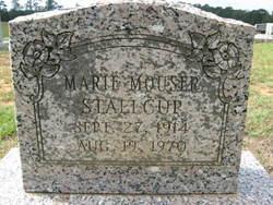 Ethel Marie <I>Mouser</I> Stallcup