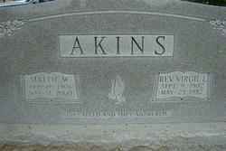 Rev Virgil L. Akins