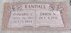 "Demaris Catherine ""Dee"" <I>Carroll</I> Randall"