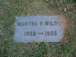 Martha Rees Wilder