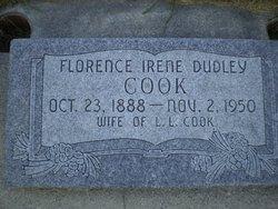 Florence Irene <I>Dudley</I> Cook