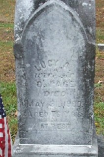 Lucy Ann <I>Applin</I> Page