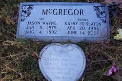 Kathy Jo <I>Slaton</I> McGregor