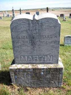 """Elizabeth """"Eliza"""" <I>Stone</I> Martin"""