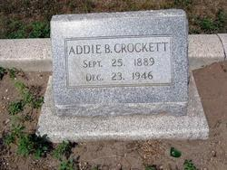 Addie Blanche Crockett