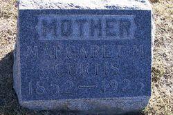 Margaret <I>Mackie</I> Curtis