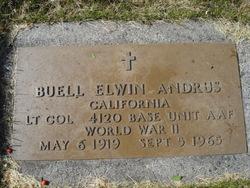 "Buell Elwyn ""Bill"" Andrus"