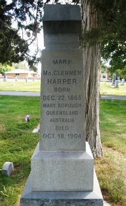 Mary McClennen <I>Hay</I> Harper