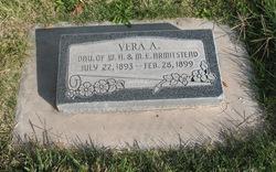 Vera Ann Armitstead