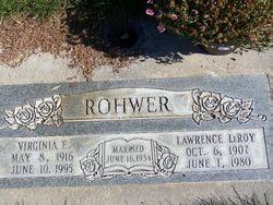 Ethel Virginia <I>Hathaway</I> Rohwer
