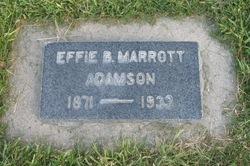 Effie Deane <I>Bullock</I> Adamson