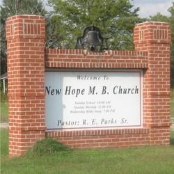 New Hope M. B. Church Cemetery