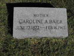 Caroline A <I>Morin</I> Baier