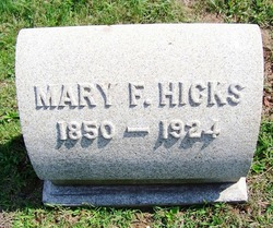 Mary F Hicks