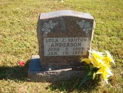 Lola J <I>Bruton</I> Anderson