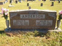 Rolly Thurman Anderson