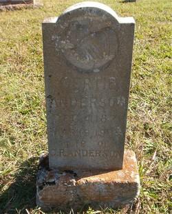 Gertie Anderson