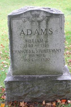Frances Litelia <I>Sturtevant</I> Adams