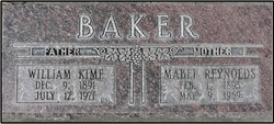 William Kime Baker
