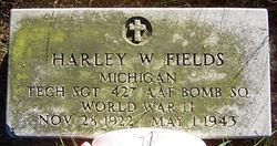 TSGT Harley W. Fields
